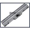 Sony VAIO VGN-CS21S/V 4400 mAh 6 cella ezüst notebook/laptop akku/akkumulátor utángyártott