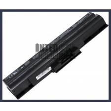 Sony VAIO VGN-CS26T/R 4400 mAh 6 cella fekete notebook/laptop akku/akkumulátor utángyártott sony notebook akkumulátor