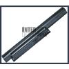 Sony VPC-EA12EH/WI 4400 mAh 6 cella fekete notebook/laptop akku/akkumulátor utángyártott