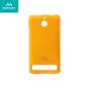 Sony Xperia E1, TPU szilikon tok, Mercury Goospery, csillámporos, narancs
