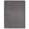 Sötétszürke műnyúlszőr szőnyeg 160 x 230 cm