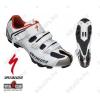 Specialized Comp MTB kerékpáros cipő 48-as csatos, fehér/piros