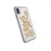 SPECK 103136-6677 Presidio Clear + Print - Shimmer Floral Metallic Gold Yellow/Clear iPhone X tok