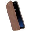 SPECK Presidio Folio Samsung G965 Galaxy S9+ bőr flip tok, barna