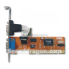 SPEEDDRAGON 2 db soros portos PCI kártya