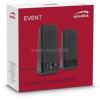 Speedlink EVENT 2.0 hangszóró, fekete (SL-8004-BK)
