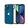 Spigen Apple iPhone 13 ütésálló hátlap - Spigen Ultra Hybrid - fekete/átlátszó