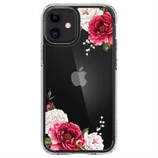 Spigen Cyrill Cecile Iphone 12 Mini piros virágos telefontok tok és táska