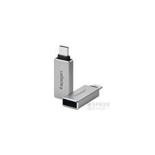 Spigen Essential CA300 USB Type-C - USB 3.0 csatlakozó átalakító (2db) kábel és adapter