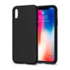 Spigen Liquid Crystal Apple iPhone X Matte Black hátlap tok