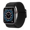 Spigen Lite Fit Apple Watch 44/42mm szövet szíj, fekete