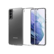 Spigen Samsung G990F Galaxy S21 ütésálló hátlap - Spigen Liquid Crystal - átlátszó tok és táska