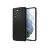 Spigen Samsung G996F Galaxy S21+ ütésálló hátlap - Spigen Liquid Air - fekete
