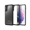 Spigen Samsung G996F Galaxy S21+ ütésálló hátlap - Spigen Ultra Hybrid - fekete/átlátszó
