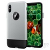 Spigen SGP Classic One Apple iPhone X Aluminum Gray hátlap tok
