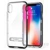 Spigen SGP Crystal Hybrid Apple iPhone X Black hátlap tok