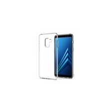 Spigen SGP Liquid Crystal Samsung Galaxy A8 (2018) Crystal Clear hátlap tok tok és táska