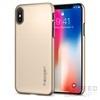 Spigen SGP Thin Fit Apple iPhone X Champagne Gold hátlap tok