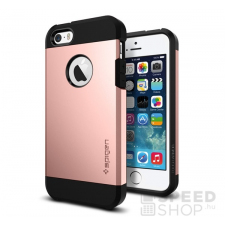 Spigen SGP Tough Armor Apple iPhone SE/5s/5 Rose Gold hátlap tok tok és táska