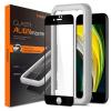 Spigen Szkło Hartowane Spigen Alm Glass Fc Iphone 7/8 / Se 2020 fekete üvegfólia
