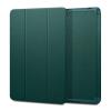 Spigen Urban Fit Apple iPad 10.2  oldalra nyíló tok, éjzöld