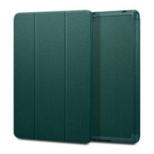 Spigen Urban Fit Apple iPad 10.2  oldalra nyíló tok, éjzöld tablet tok