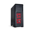Spirit of Gamer REVOLUTION 1 Red (fekete, fekete belső, 3x12cm ventilátor, ATX,mATX, 2xUSB3.0, 2xUSB2.0) (8608RE30)