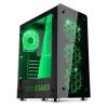 Spirit of Gamer ROGUE 4 Számítógépház, Zöld (8622B30GN)