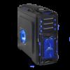 Spirit of Gamer X FIGHTER 51 Számítógépház, Kék (8616B30)