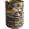 Spirit of Nature Cat Junior bárány- és nyúlhúsos konzerv (24 x 415 g) 9.96kg