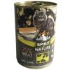 Spirit of Nature Cat konzerv Bárányhússal és nyúlhússal 415g