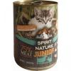 Spirit of Nature Cat Konzerv Junior Bárányhússal és Nyúlhússal 415gr