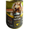 Spirit of Nature Dog konzerv Strucchússal 800g