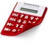 Splitz rugalmas számológép, piros