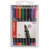 "STABILO Alkoholos marker, 1 mm, STABILO \""OHPen M\"",  8 különböző szín [8 db]"