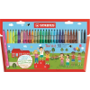 STABILO Filctoll készlet, 0,7 mm, STABILO Trio A-Z, 30 különböző szín (TST37830)