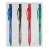 STABILO Golyóstoll, 0,3 mm, nyomógombos, STABILO Liner 308, fekete (TST308461)