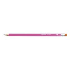 STABILO Grafitceruza STABILO Pencil 160 2B hatszögletű rózsaszín radíros színes ceruza