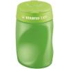 """STABILO Hegyező, háromlyukú, tartályos, jobbkezes, STABILO """"Easy"""", zöld"""