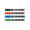 STABILO Mark-4-all alkoholos marker gömbölyű hegyű piros