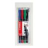 """STABILO """"OHPen F"""" 0,7 mm 4 különböző szín alkoholos marker készlet"""