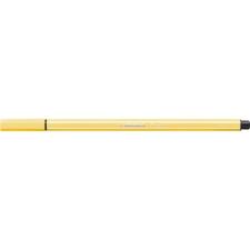 """STABILO Rostirón, 1 mm, STABILO """"Pen 68"""", sárga filctoll, marker"""