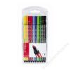 STABILO Rostirón készlet, 1 mm, STABILO Pen 68, 10 szín (TST6810PL)
