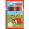 """STABILO Színes ceruza készlet, háromszögletű, STABILO """"Trio"""", 18 különböző szín"""