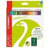 """STABILO Színes ceruza készlet, hatszögletű, STABILO """"GreenColours"""", 24 szín"""