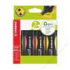 STABILO Szövegkiemelő készlet, 2-5 mm, STABILO Green Boss, 4 különböző szín (TST60704)