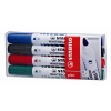"""STABILO Táblamarker készlet, 1-5 mm, vágott,  """"Plan"""", 4 különböző szín"""