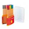 "STABILO Tűfilc készlet, 0,4 mm, STABILO ""Point 88 ColorPa"