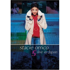 STACIE ORRICO - Live In Japan DVD zene és musical