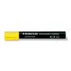 STAEDTLER Alkoholos marker, 2 mm, kúpos, STAEDTLER Lumocolor 352, sárga (TS3521)